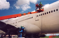 Cleaners for aviation industry